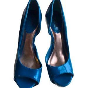 Charlotte Russe Size 8 Open Toe Heels